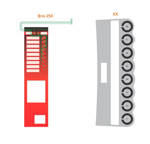 comunicacao visual para vending machine - teclado de membrana