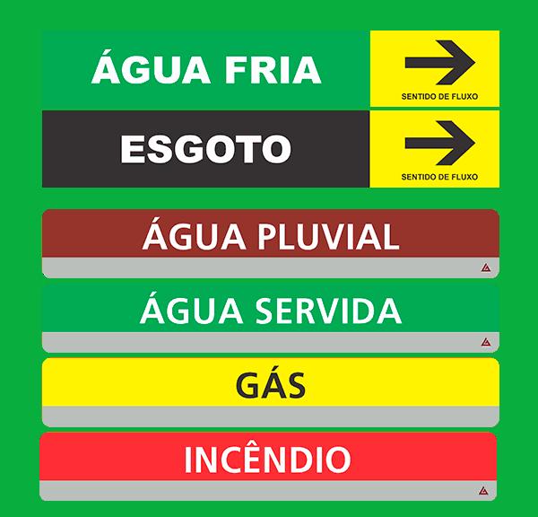 marcadores de tabulacao - etiqueta hidraulica_